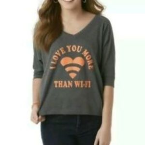 "Bongo ""I Love You More Than Wi-Fi"" Tee 